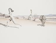 marco-museum-.Ramiro Martinez-The race