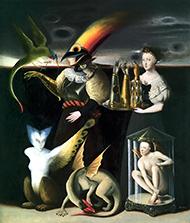 museo-marco-Benjamin Dominguez-Hombre que mira
