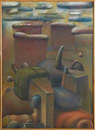 museo-marco-Eduardo Tamariz-A lo lejos tormenta