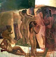 museo-marco-German Venegas-Mujeres con Buda