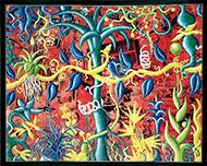 museo-marco-Kenny Scharf-Junglrama
