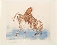 museo-marco-Leonora carrington-Personaje con caballo